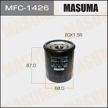 MASUMA MFC1426 | Масляный фильтр C-415 MASUMA | Купить в интернет-магазине Макс-Плюс: Автозапчасти в наличии и под заказ