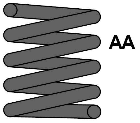 MAXTRAC MC1185 | Пружина ходовой части зад прав/лев | Купить в интернет-магазине Макс-Плюс: Автозапчасти в наличии и под заказ