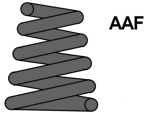 MAXTRAC MC3393 | Пружина ходовой части | зад прав/лев | | Купить в интернет-магазине Макс-Плюс: Автозапчасти в наличии и под заказ