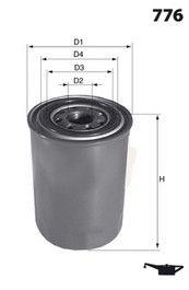 MECAFILTER ELH4262   Фильтр масляный   Купить в интернет-магазине Макс-Плюс: Автозапчасти в наличии и под заказ