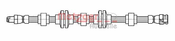 METZGER 4118438 | Шлангопровод | Купить в интернет-магазине Макс-Плюс: Автозапчасти в наличии и под заказ