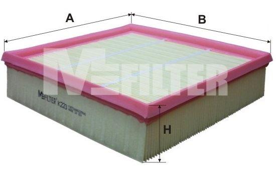 MFILTER K220 | Фильтр воздушный | Купить в интернет-магазине Макс-Плюс: Автозапчасти в наличии и под заказ