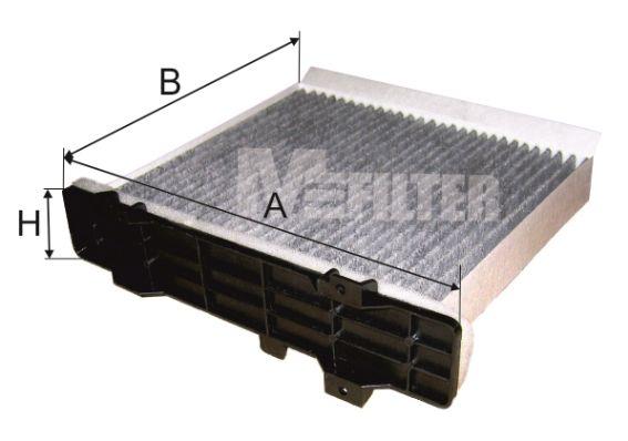MFILTER K9017C   Фильтр салонный   Купить в интернет-магазине Макс-Плюс: Автозапчасти в наличии и под заказ