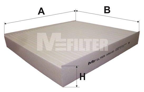 MFILTER K9100 | Фильтр салонный | Купить в интернет-магазине Макс-Плюс: Автозапчасти в наличии и под заказ