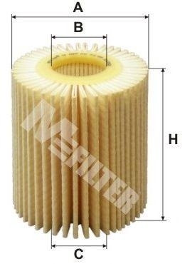 MFILTER TE4005   TE 4005 - Фильтр масла   Купить в интернет-магазине Макс-Плюс: Автозапчасти в наличии и под заказ