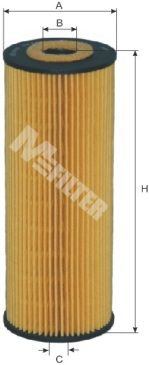 MFILTER TE622 | Фильтр масляный | Купить в интернет-магазине Макс-Плюс: Автозапчасти в наличии и под заказ
