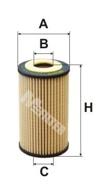 MFILTER TE648   Фильтр масляный   Купить в интернет-магазине Макс-Плюс: Автозапчасти в наличии и под заказ