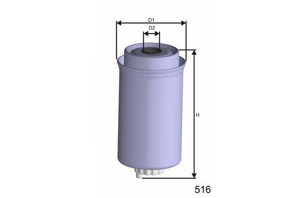 MISFAT M432 | Топливный фильтр | Купить в интернет-магазине Макс-Плюс: Автозапчасти в наличии и под заказ