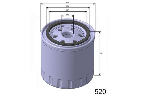 MISFAT Z165 | Масляный фильтр MISFAT | Купить в интернет-магазине Макс-Плюс: Автозапчасти в наличии и под заказ