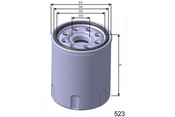 MISFAT Z253 | Масляный фильтр | Купить в интернет-магазине Макс-Плюс: Автозапчасти в наличии и под заказ
