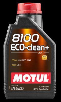MOTUL 101580   Motul 5W30 (1L) 8100 Eco-clean+ масло моторное ! \ API: SM/CF: ACEA: A5/B5/C1 (синт.)   Купить в интернет-магазине Макс-Плюс: Автозапчасти в наличии и под заказ