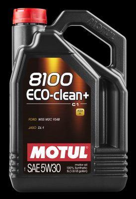 MOTUL 101584   Моторное масло 8100 Eco-Clean Plus 5W30 4x5л 101584   Купить в интернет-магазине Макс-Плюс: Автозапчасти в наличии и под заказ
