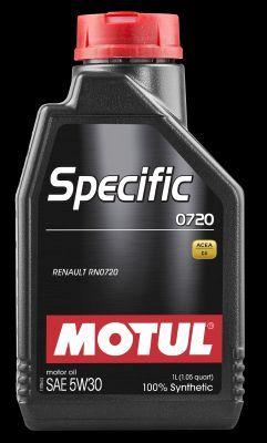 MOTUL 102208   Motul 5W30 (1L) SPECIFIC 0720 масло моторное!\ ACEA: С4/А3/В4,для дизельных двигателей Renault с DPF   Купить в интернет-магазине Макс-Плюс: Автозапчасти в наличии и под заказ