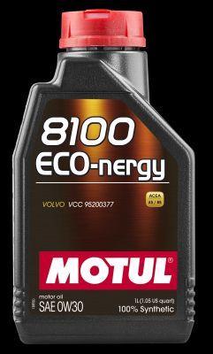 MOTUL 102793   Масло моторное Motul 8100 Eco-nergy 0W30 (Синтетика, API SL/CF) 1L   Купить в интернет-магазине Макс-Плюс: Автозапчасти в наличии и под заказ