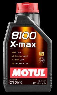 MOTUL 104531   Масло моторное Motul 8100 X-max 0W40 (Синтетика, API SN/CF) 1L   Купить в интернет-магазине Макс-Плюс: Автозапчасти в наличии и под заказ
