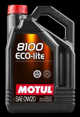 MOTUL 104983   MOTUL 0W20 8100 ECO-Lite синт. 5л   Купить в интернет-магазине Макс-Плюс: Автозапчасти в наличии и под заказ