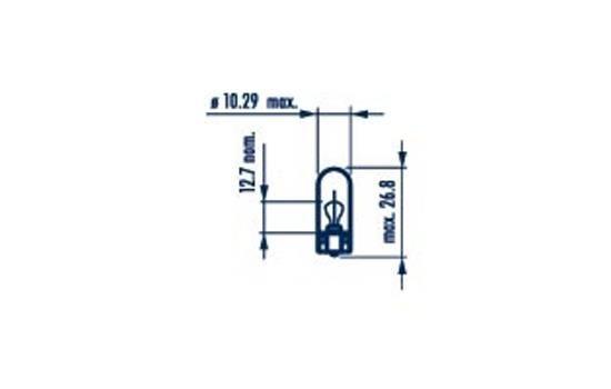 NARVA 17097 | Лампа W3W 12V W2,1X9,5d | Купить в интернет-магазине Макс-Плюс: Автозапчасти в наличии и под заказ