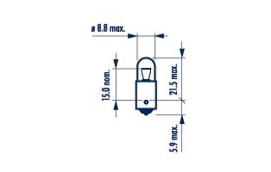 NARVA 17141 | Лампа T4W 24V BA9S | Купить в интернет-магазине Макс-Плюс: Автозапчасти в наличии и под заказ