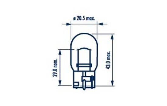 NARVA 17629 | Лампа WY21W 12V 21W WX3*16d | Купить в интернет-магазине Макс-Плюс: Автозапчасти в наличии и под заказ