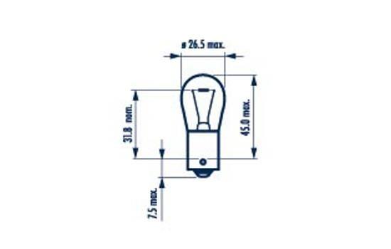 NARVA 17635 | Лампа P21W 12V 21W BA15s | Купить в интернет-магазине Макс-Плюс: Автозапчасти в наличии и под заказ