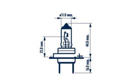 NARVA 48328 | лампа! (H7) 55W 12V PX26D галогенная стандарт\ | Купить в интернет-магазине Макс-Плюс: Автозапчасти в наличии и под заказ
