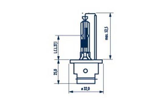 NARVA 84006 | лампа! XENON (D2R) 35W P32d-3 | Купить в интернет-магазине Макс-Плюс: Автозапчасти в наличии и под заказ