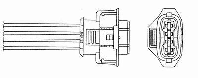 NGK 1995 | Лямбда-зонд OZA659-EE51 | Купить в интернет-магазине Макс-Плюс: Автозапчасти в наличии и под заказ