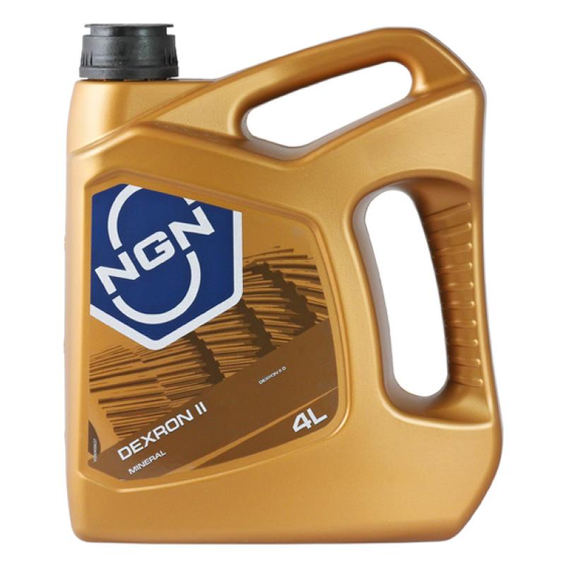 NGN V172085314 | Трансмиссионная жидкость NGN ATF DEXRON II (Минеральное) 4L | Купить в интернет-магазине Макс-Плюс: Автозапчасти в наличии и под заказ