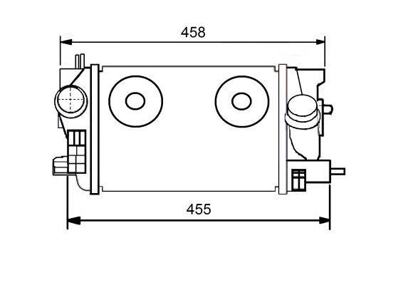 NRF 30549 | Интеркулер OP Meriva 1.3CDTI 10- | Купить в интернет-магазине Макс-Плюс: Автозапчасти в наличии и под заказ