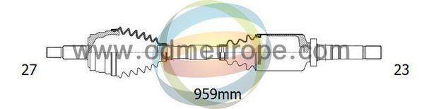 ODM-MULTIPARTS 18012790 | вал приводной | Купить в интернет-магазине Макс-Плюс: Автозапчасти в наличии и под заказ