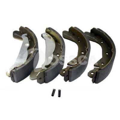 OSSCA 08820 | колодки задние | Купить в интернет-магазине Макс-Плюс: Автозапчасти в наличии и под заказ