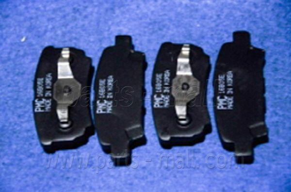 PARTS MALL PKG007 | Колодки тормозные дисковые | Купить в интернет-магазине Макс-Плюс: Автозапчасти в наличии и под заказ
