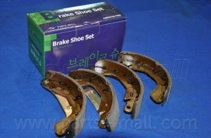 PARTS MALL PLC004 | Колодки тормозные барабанные CHEVROLET Lanos (1997-2002) | Купить в интернет-магазине Макс-Плюс: Автозапчасти в наличии и под заказ