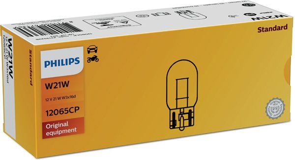 PHILIPS 12065CP | лампа! 21W 12V W3X16D\ | Купить в интернет-магазине Макс-Плюс: Автозапчасти в наличии и под заказ