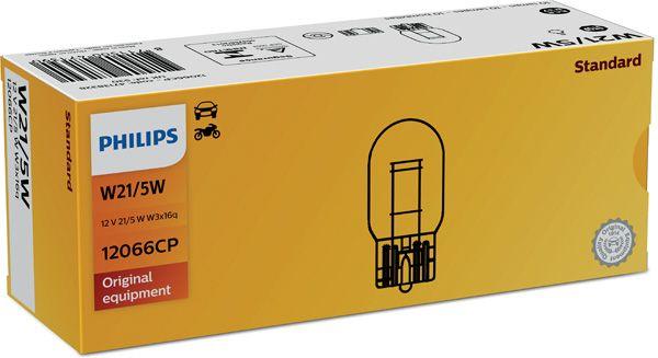 PHILIPS 12066CP | Лампа W21/5W Vision 12V 21W W3x16q CP | Купить в интернет-магазине Макс-Плюс: Автозапчасти в наличии и под заказ