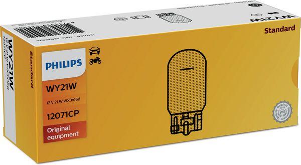 PHILIPS 12071CP | Лампа 12V WY21W WX3x16d | Купить в интернет-магазине Макс-Плюс: Автозапчасти в наличии и под заказ