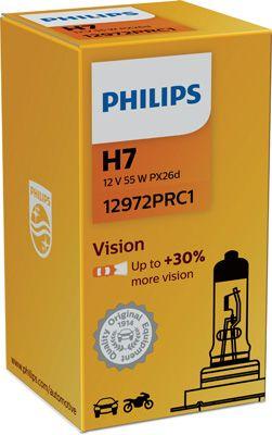 PHILIPS 12972PRC1 | лампа H7 | Купить в интернет-магазине Макс-Плюс: Автозапчасти в наличии и под заказ