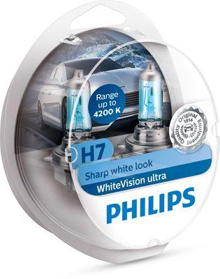 PHILIPS 12972WVUSM | Лампа H7 12V 60/55W SM | Купить в интернет-магазине Макс-Плюс: Автозапчасти в наличии и под заказ