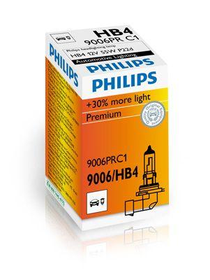 PHILIPS 9006PRC1 | Лампа 12V HB4 51W P22D SHL +30% Vision | Купить в интернет-магазине Макс-Плюс: Автозапчасти в наличии и под заказ