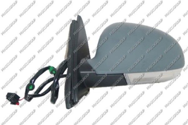 PRASCO VG5207324 | Зеркало в сборе с электрорегулировкой левое / VW Jetta-III,Golf-V 07~14 | Купить в интернет-магазине Макс-Плюс: Автозапчасти в наличии и под заказ