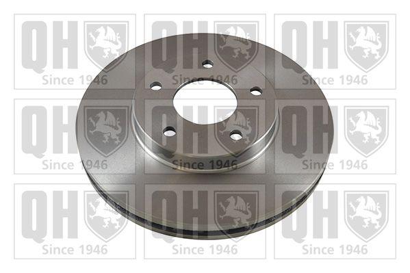 QUINTON HAZELL BDC5237   Диск тормозной вентилируемый   Купить в интернет-магазине Макс-Плюс: Автозапчасти в наличии и под заказ