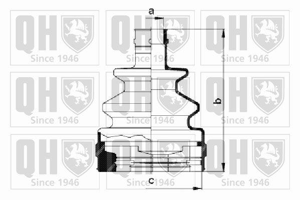 QUINTON HAZELL QJB172 | пыльник привода (qh / qjb172) ориг.0374102 | Купить в интернет-магазине Макс-Плюс: Автозапчасти в наличии и под заказ