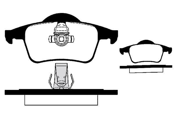 RAICAM RA06940 | Колодки тормозные передние VOLVO S60 I S80 V70 II 95-10 | Купить в интернет-магазине Макс-Плюс: Автозапчасти в наличии и под заказ