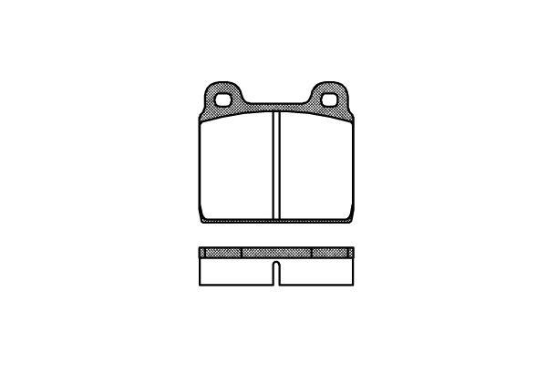 REMSA 000220   002 20 FDB84=571236X !колодки дисковые п.\ VW T2 1.6-2.0 79-82   Купить в интернет-магазине Макс-Плюс: Автозапчасти в наличии и под заказ