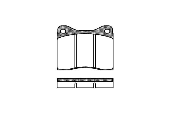 REMSA 001100   Сигнализатор, износ тормозных колодок LAND ROVER RANGE ROVER III (LM)   Купить в интернет-магазине Макс-Плюс: Автозапчасти в наличии и под заказ
