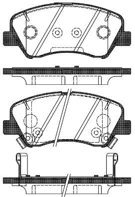 ROADHOUSE 2148802 | Колодки торм.пер. | Купить в интернет-магазине Макс-Плюс: Автозапчасти в наличии и под заказ