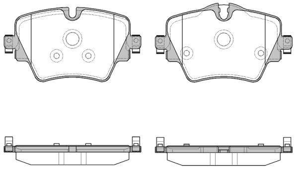 ROADHOUSE 2162508 | Колодки торм.дисковые BMW X1 | Купить в интернет-магазине Макс-Плюс: Автозапчасти в наличии и под заказ