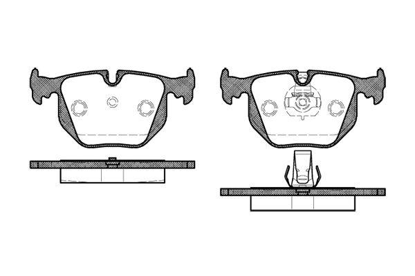 ROADHOUSE 238130 | 2381.30 Колодки тормозные задние | Купить в интернет-магазине Макс-Плюс: Автозапчасти в наличии и под заказ