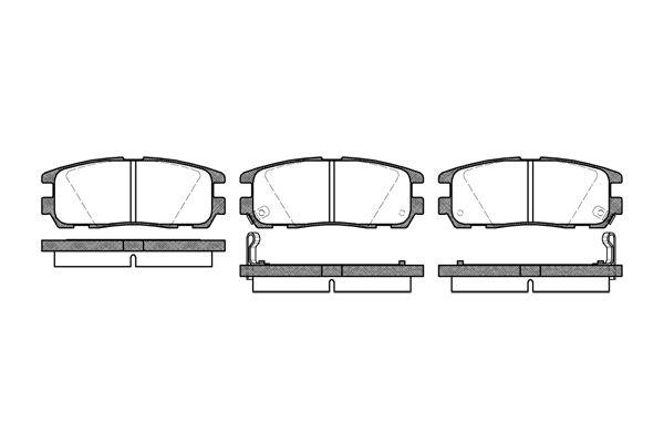 ROADHOUSE 242602 | Колодки тормозные ISUZU/OPEL TROOPER/FRONTERA 91- задн. | Купить в интернет-магазине Макс-Плюс: Автозапчасти в наличии и под заказ