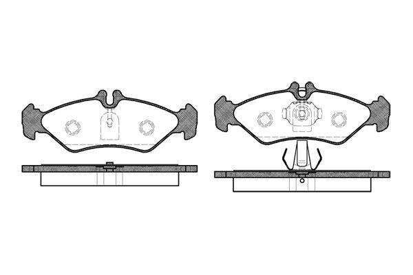 ROADHOUSE 257900 | Колодки тормозные задние | Купить в интернет-магазине Макс-Плюс: Автозапчасти в наличии и под заказ